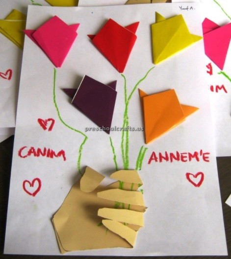 Classroom Ideas For Mothers Day ~ Mother s day craft ideas for teacher preschool crafts