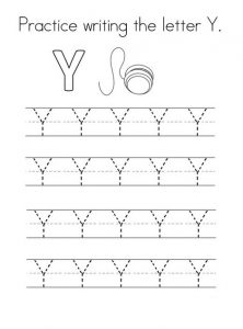 uppercase letter y worksheets free printable preschool and kindergarten. Black Bedroom Furniture Sets. Home Design Ideas