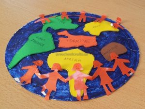 Preschool Happy Earth Day Craft Idea