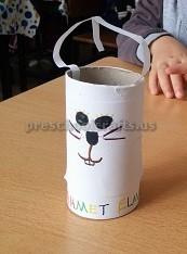 Preschool Happy Easter Bunny Craft Ideas