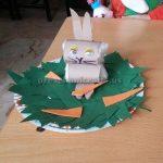 Preschool Paper Plate Easter Bunny Craft