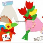 Preschool mother's day flower crafts ideas