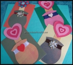 Preschoolers mother's day flower crafts ideas