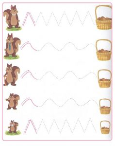 Printable Tracing Line Worksheets for Kids