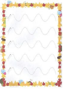 Printable Tracing Line Worksheets for Toddler