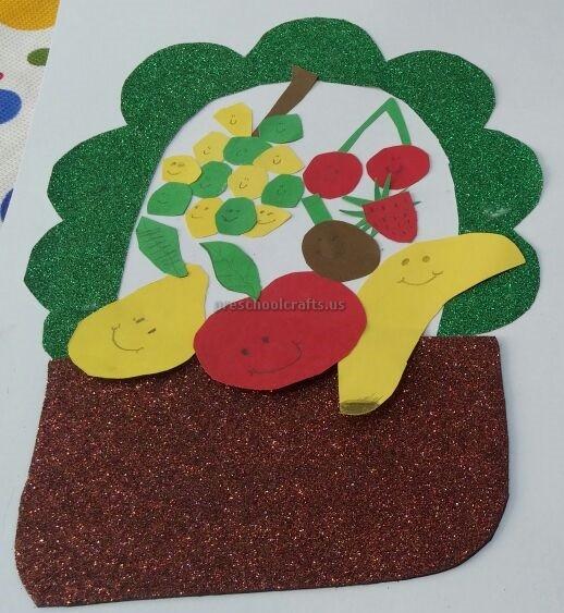 Fruit Basket Art Ideas : Spring fruit craft ideas for preschoolers preschool crafts