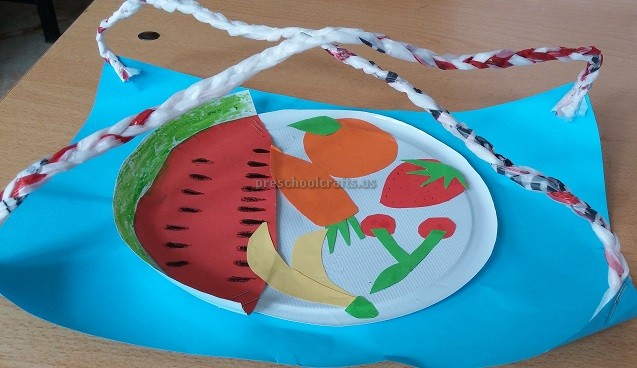 Spring Fruits Vegetables Craft Ideas For Preschool Preschool And