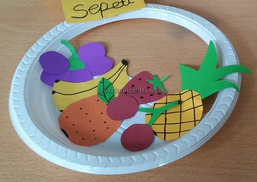 Spring Fruits Paper Plate Craft Ideas for Preschool & Spring Fruits u0026 Vegetables Craft Ideas for Preschool - Preschool and ...