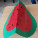 Spring Fruits Watermelon Craft Ideas for Preschool