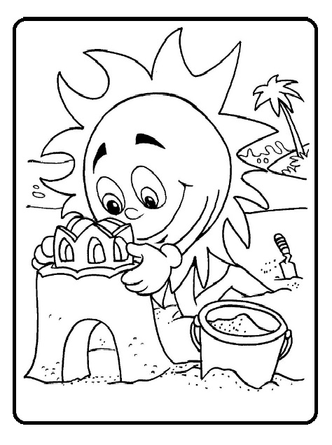 Spring theme coloring pages for kids printable - Preschool ...
