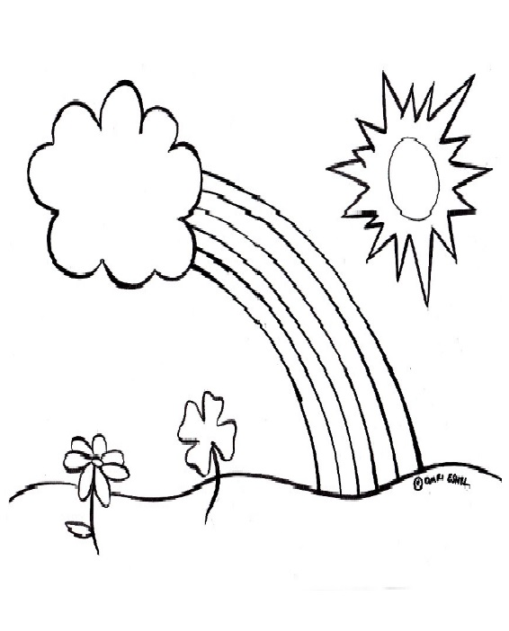 Spring theme coloring pages for pre-school free printable ...