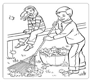 Spring theme printable coloring pages for kindergarten