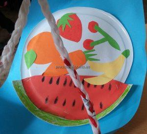 Strawberry Cherry Watermelon Craft Ideas for Kindergarten