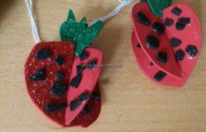Strawberry Craft Ideas for Kindergarten - Spring Fruit Craft Ideas