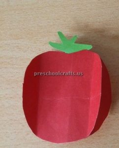 Strawberry Craft Ideas for Kindergarten - Spring Fruits Craft Idea