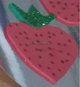 Strawberry craft ideas for preschool
