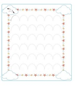 Tracing Line Worksheet for Preschool