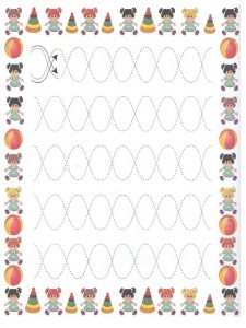Tracing Line Worksheet for Preschoolers