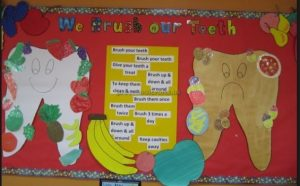 bulletin board ideas for health week