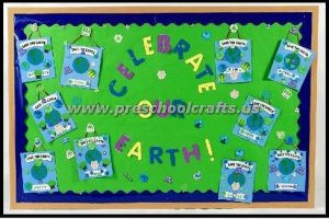 earth day bulletin board ideas for kids