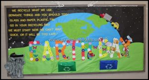 earth day bulletin boards