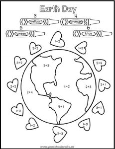 earth day printables acticvities worksheets for preschoolers