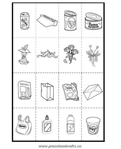 Earth Day Recycle Activities Page 2 Preschool Crafts