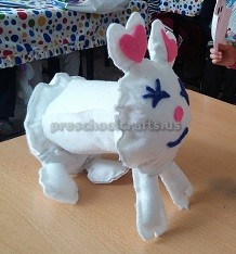 easter bunny craft ideas for preschooler