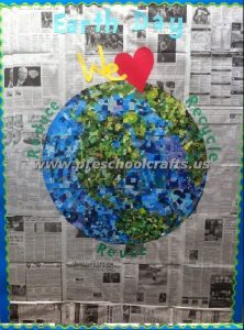 happy earth day 3d earth day bulletin boards from recycles materials