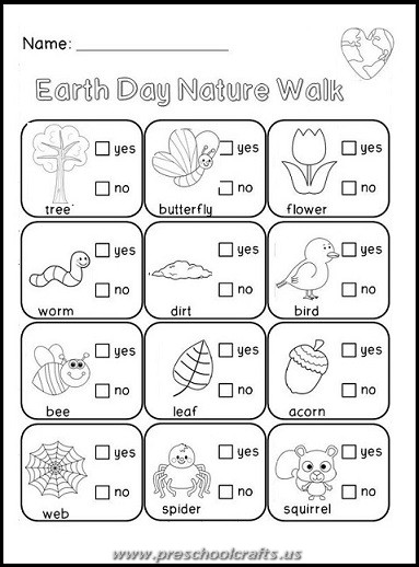 happy earth day free kids worksheets preschool crafts. Black Bedroom Furniture Sets. Home Design Ideas