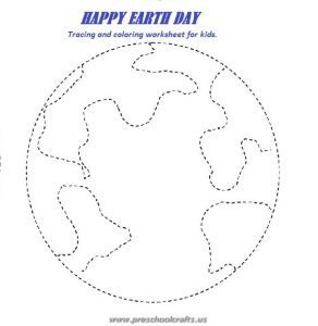 happy earth day worksheets for kids