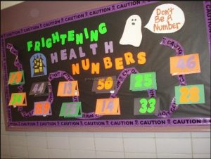 health week bulletin board