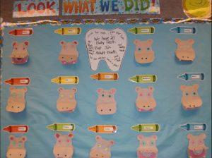 health week bulletin board ideas for preschool