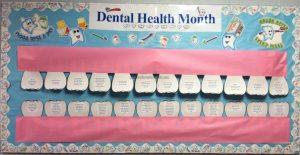 health week tooth bulletin board ideas for preschool