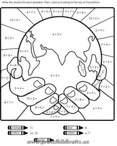kindergarten free earth day worksheets