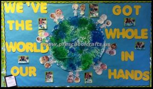 our promise the earth bulletin boards