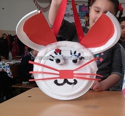 paper plate easter bunny crafts for kids