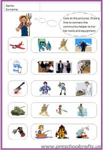 preschool community helpers worksheetspreschool community helpers worksheets