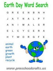 preschoolers earth day worksheets