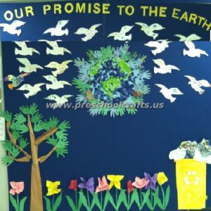 promise the earth bulletin boards for kids