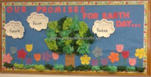 save the earth bulletin boards for kindergarteners