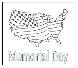 Abd Maps Coloring Pages for Kids - Memorial Day coloring pages