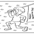Free Printable Memorial Day Coloring Pages for Preschool
