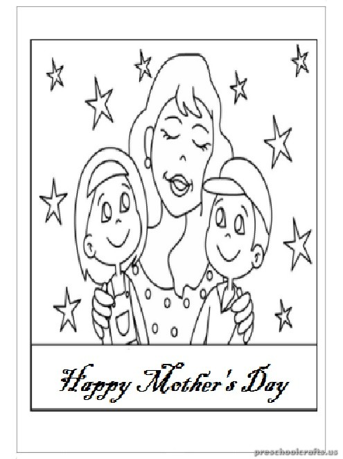mothers day coloring pages for preschool - happy mother 39 s day coloring pages for preschool