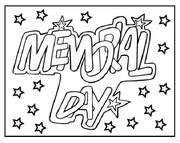 Memorial Day Coloring Pages For 1st Grade