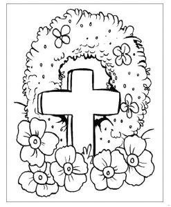 Memorial Day Coloring Pages for Preschool Free Printable