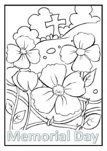 Memorial Day Coloring Pages for firstgrade printable free