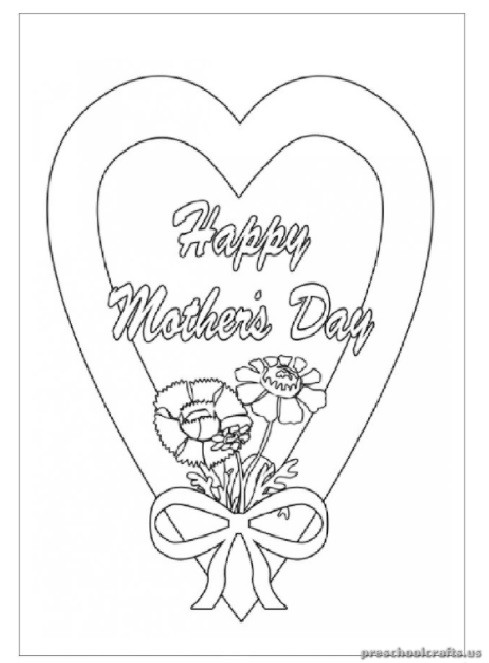 mothers day coloring pages for primary school - Primary Coloring Pages