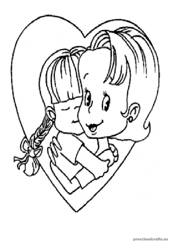 Mother 39 s Day Coloring Pages for Kids Preschool and