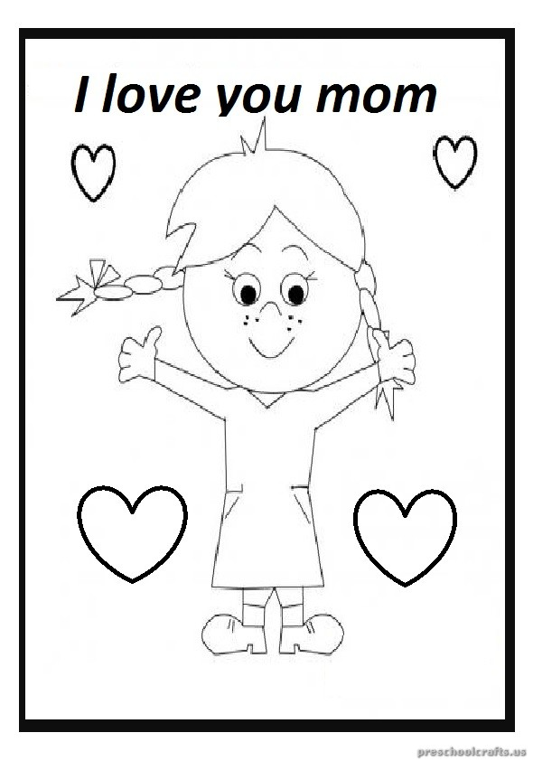 Mother 39 s Day Free Printable Coloring Pages for